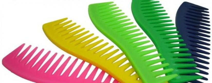 Um pente para cada tipo de cabelo