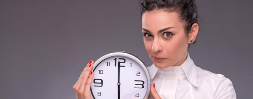 Obreira: A obreira e a organização do tempo